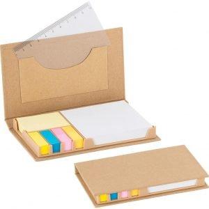 geri dönüşümlü notluk 6360, masa üstü renkli yapışkan notluk modeli doğa dostu ürün