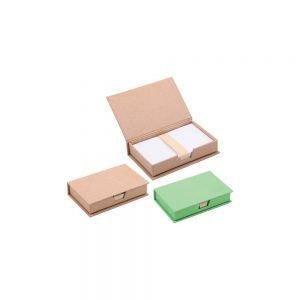 geri dönüşümlü notluk 6365, masa üstü renkli yapışkan notluk modeli doğa dostu ürün