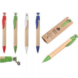 Promosyon Kalem 1129, doğa dostu tohumlu kalem