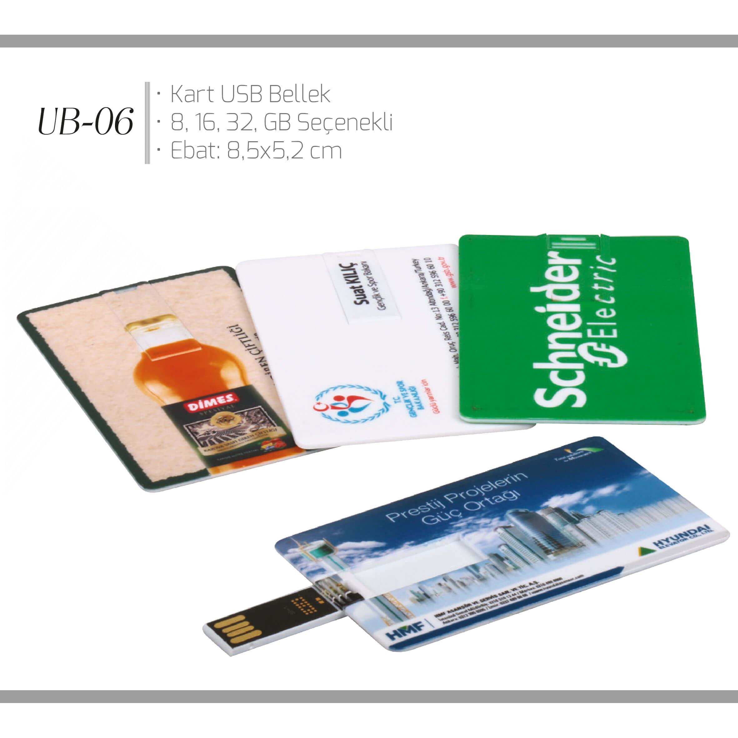 promosyon-promosyon ürünleri-kart usb bellek-promosyon UB-06