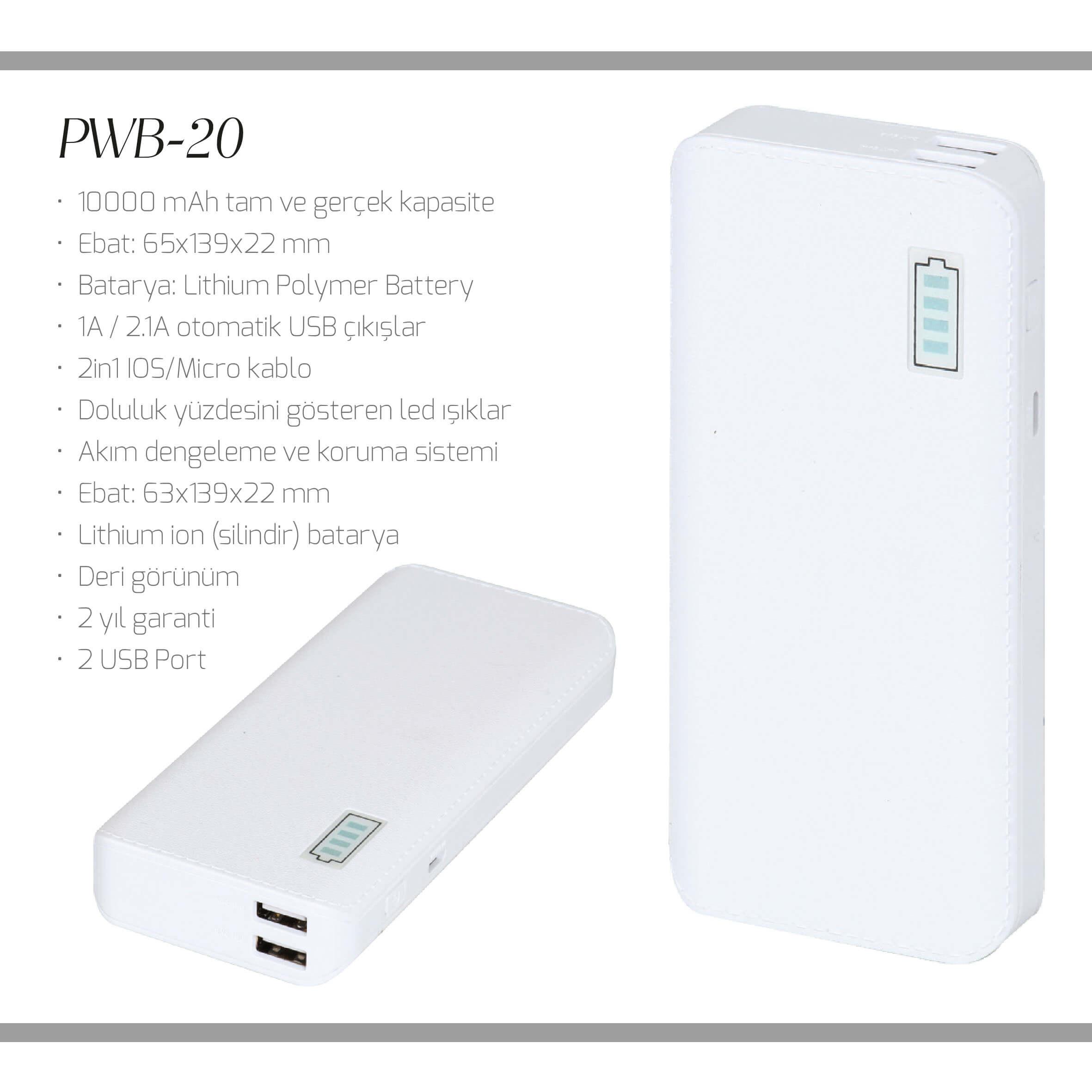 promosyon-promosyon ürünleri-powerbank-promosyon pwb-20