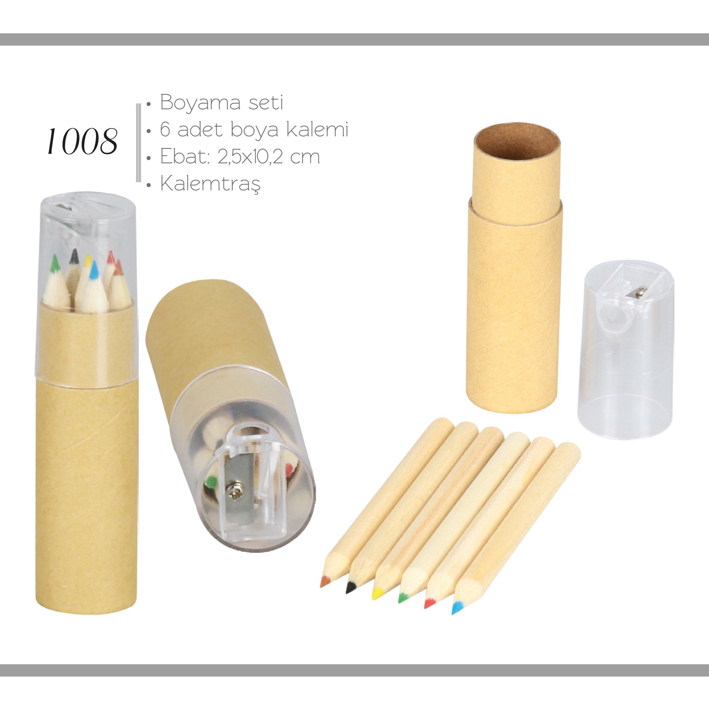 promosyon-promosyon ürünleri-promosyon kalemler-kurşun kalemler-promosyon ahşap kurşun kalem seti 1008