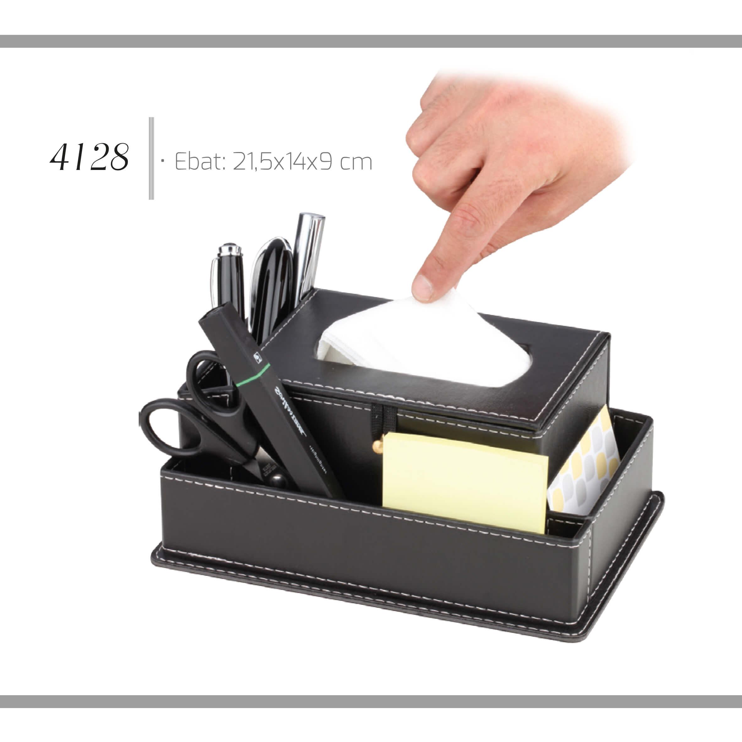 promosyon-promosyon ürünleri-promosyon masa seti-deri kalemlik 4128