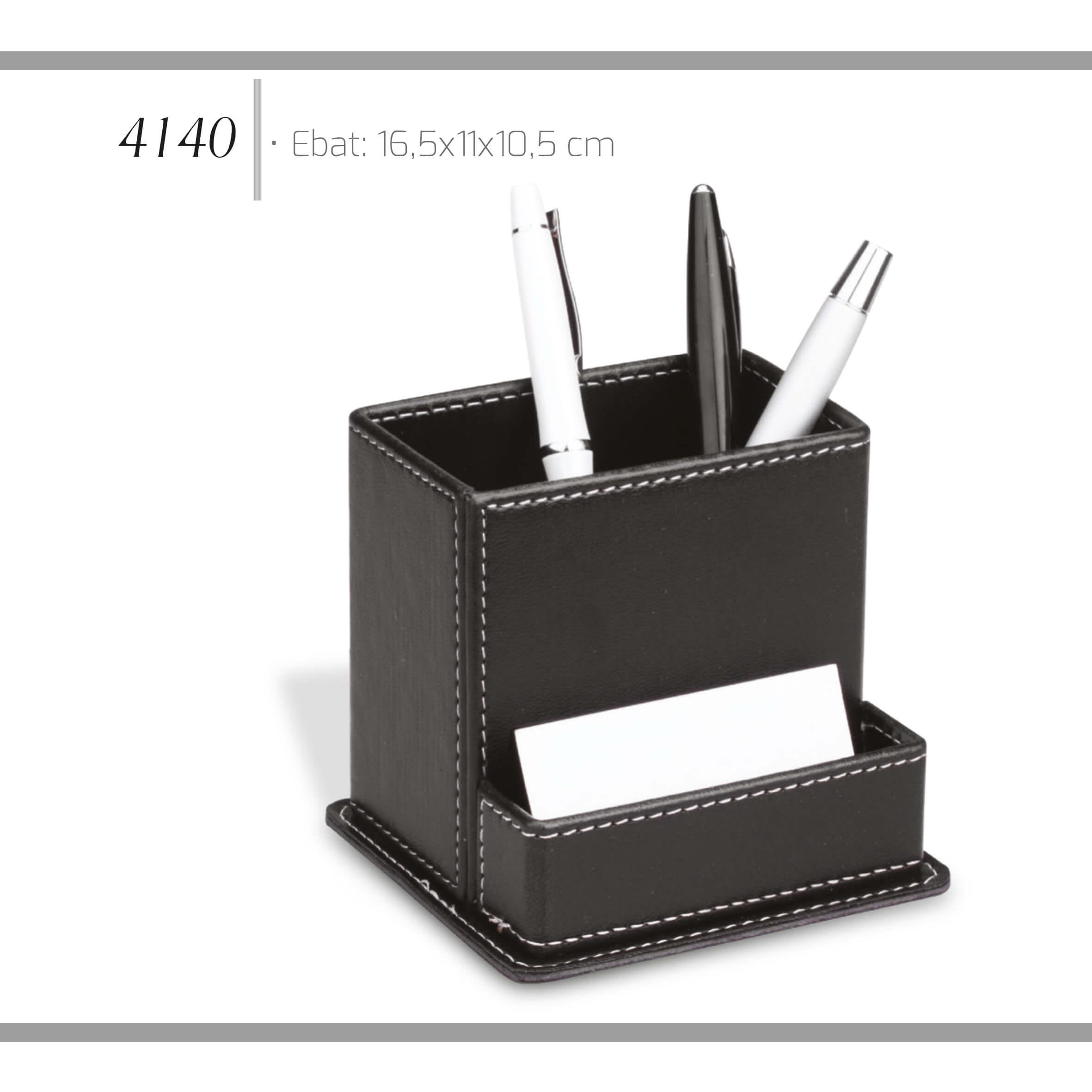 promosyon-promosyon ürünleri-promosyon masa seti-deri kalemlik 4140