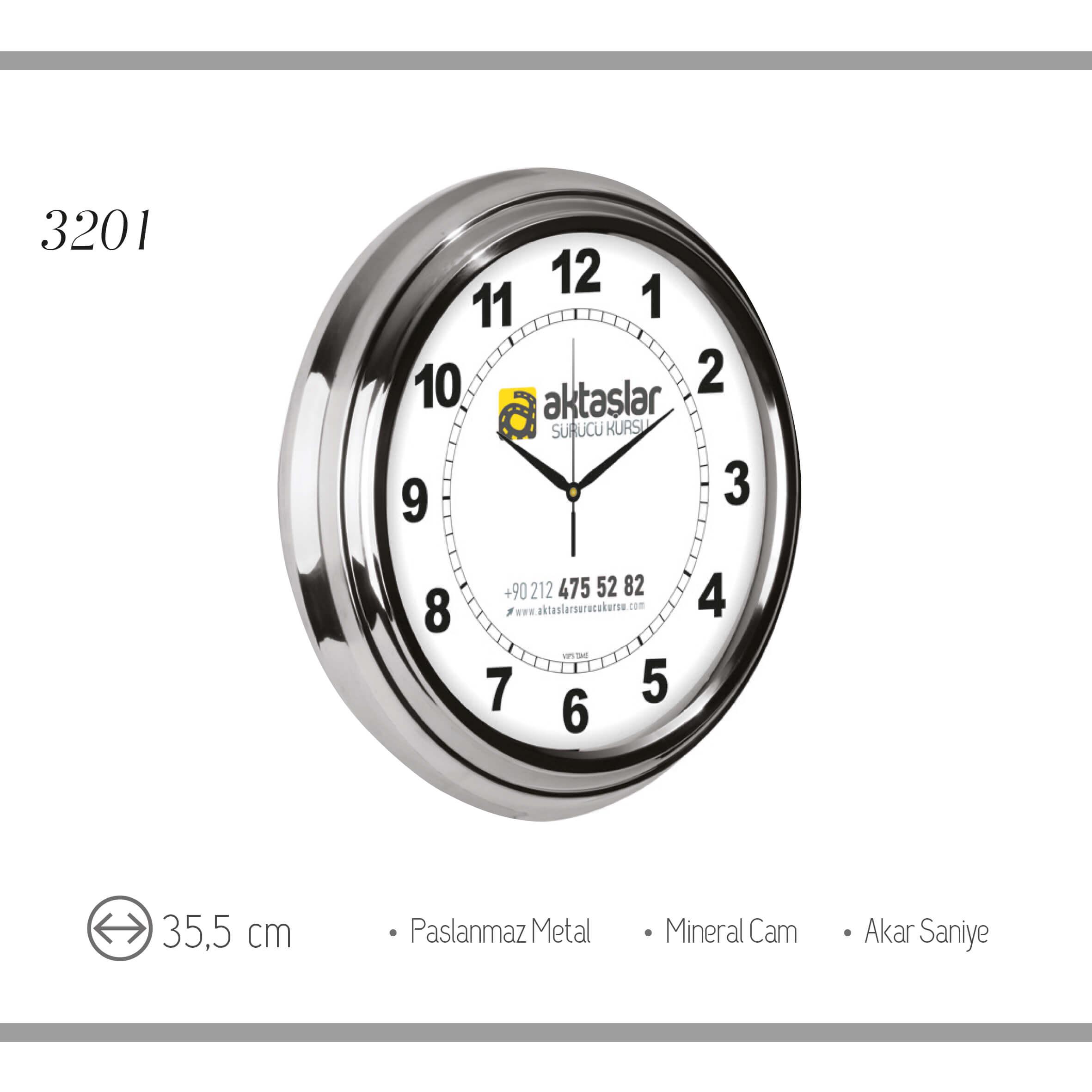 promosyon-promosyon ürünleri-promosyon saatler-duvar saatleri-promosyon duvar saati 3201