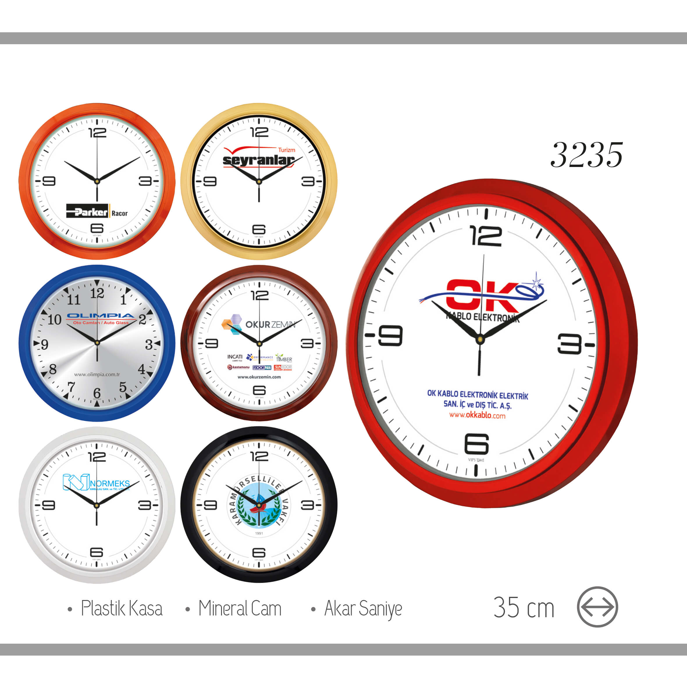 promosyon-promosyon ürünleri-promosyon saatler-duvar saatleri-promosyon duvar saati 3235